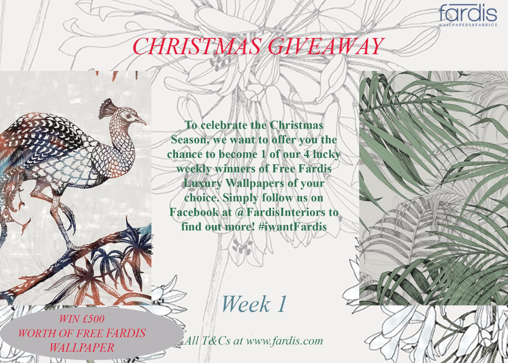 Christmas Giveaway Poster
