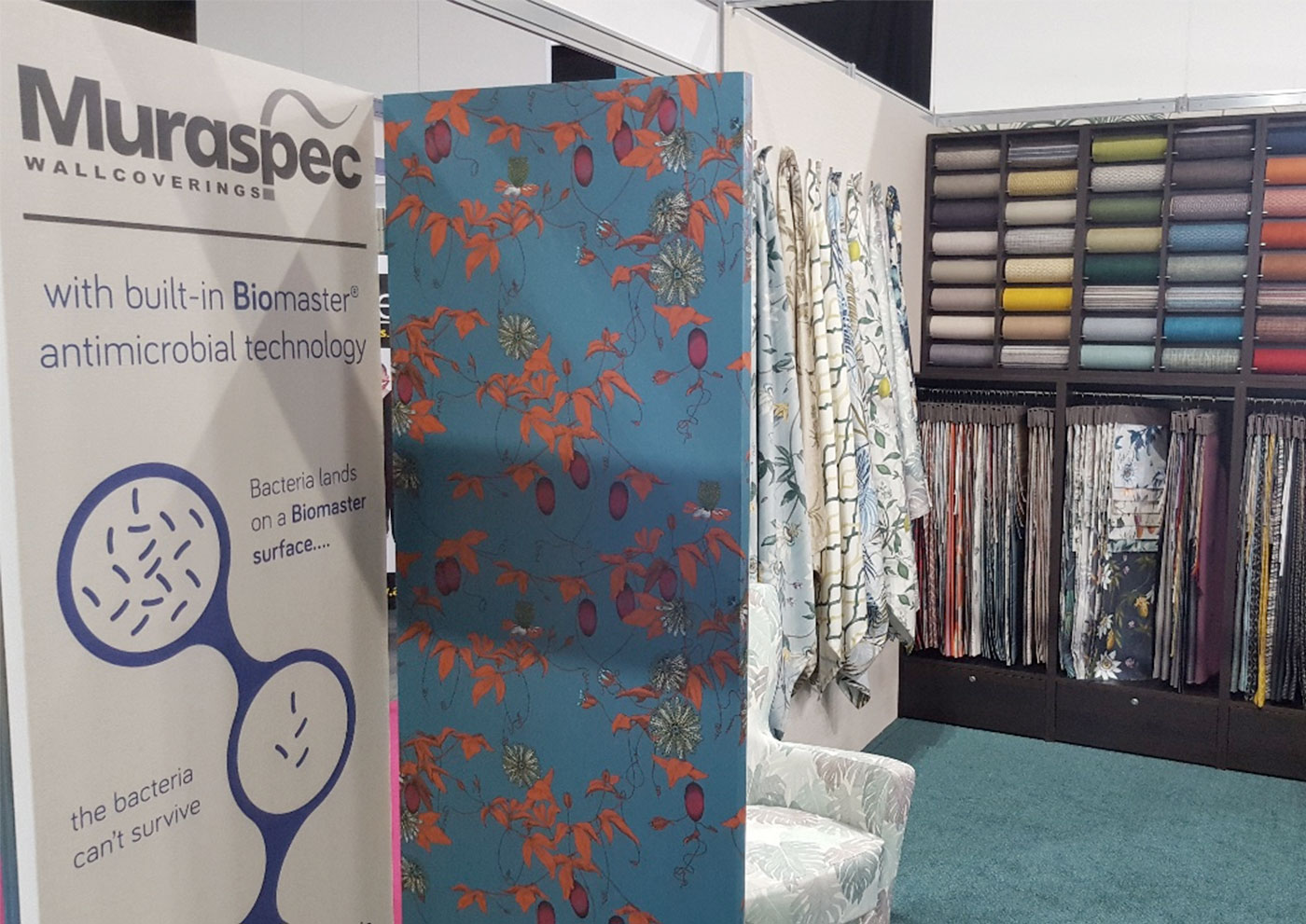 Muraspec, Global Wallcoverings Manufacturer, Launches Wallcovering Collection for Infection Control